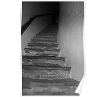 Old Staircase Poster