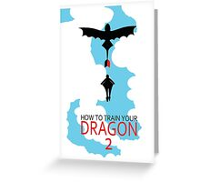 How To Train Your Dragon 2 Greeting Card