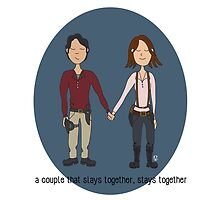 A Couple That Slays Together (Gleggie) by Valerie Canizales