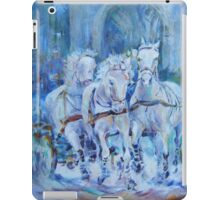 Horses Stepping Out - Art Gallery 29 iPad Case/Skin