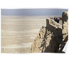 Masada fortress Israel Poster