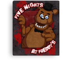 Freddy Fazbear Canvas Print