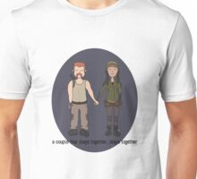 A Couple That Slays Together (Abrasita) Unisex T-Shirt