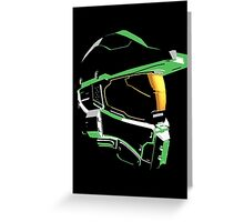 Halo: Master Chief Profile Greeting Card
