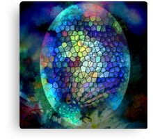 Coloured Egg Canvas Print