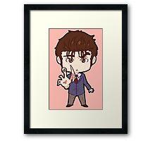 Shinichi and Migi Framed Print