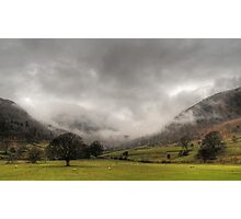 Low Clouds Photographic Print