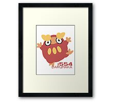 DARUMAKA! POKEMON! Framed Print