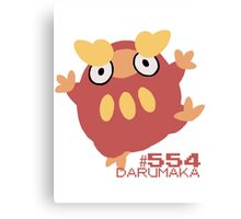 DARUMAKA! POKEMON! Canvas Print