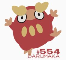 DARUMAKA! POKEMON! Kids Tee
