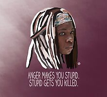 Anger Makes You Stupid by Valerie Canizales