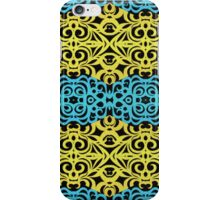Floral abstract background  iPhone Case/Skin