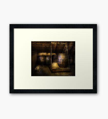 Barrels - HDR Framed Print