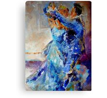 Ballroom Dancing – Dance Gallery 55 Canvas Print