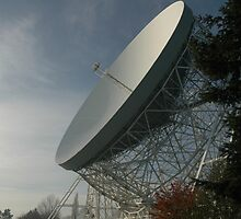 Lovell Telescope at Jodrell Bank 7 by bubblebat