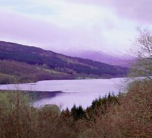 Loch Tummel by paul boast