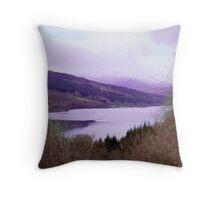 Loch Tummel Throw Pillow