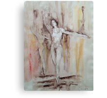En Pointe – Ballet Painting Canvas Print