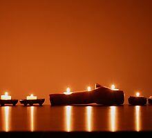 Candle Row by Craig Wilson