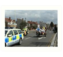 Start of this years Wirral Easter Egg Run Art Print