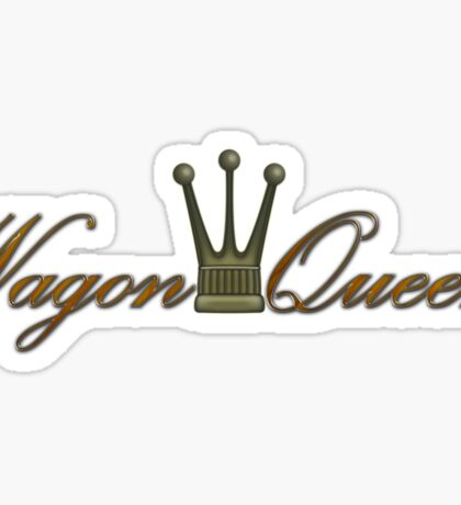 Wagon Queen Sticker