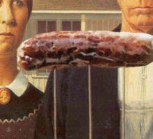 American Sausage Sticker