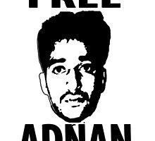 Free Adnan by Zachary Garrison