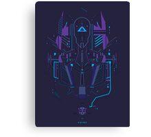 Optimus Prime Profile Canvas Print
