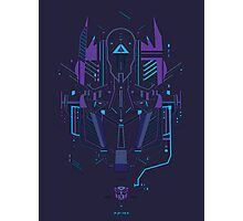 Optimus Prime Profile Photographic Print