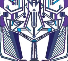 Optimus Prime Profile Sticker