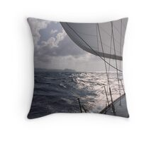 In the British Virgin Islands Throw Pillow