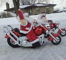 CHRISTMAS RIDE by Henry VanderJagt
