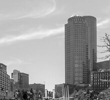 Boston City scape  by TKPhotos