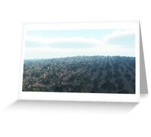 Oliveraie du sud de l'Italie / Olive groves of southern Italy Greeting Card