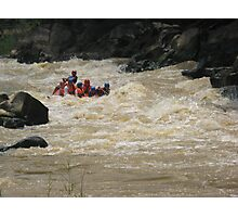 rafting Photographic Print
