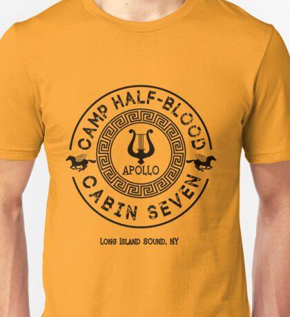 Percy Jackson - Camp Half-Blood - Cabin Seven - Apollo Unisex T-Shirt