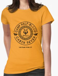 Percy Jackson - Camp Half-Blood - Cabin Seven - Apollo Womens Fitted T-Shirt
