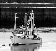 Lobster Boat Maine  by TKPhotos