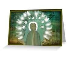 Holy Mary Mother Of God Greeting Card