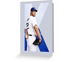 "Beink ""K is for Kershaw""  Greeting Card"