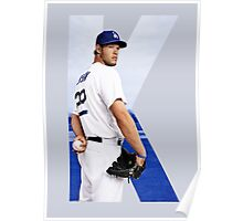 """Beink """"K is for Kershaw""""  Poster"""