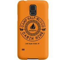 Percy Jackson - Camp Half-Blood - Cabin Nine - Hephaestus Samsung Galaxy Case/Skin