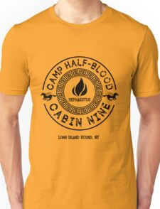 Percy Jackson - Camp Half-Blood - Cabin Nine - Hephaestus T-Shirt