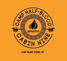 Percy Jackson - Camp Half-Blood - Cabin Nine - Hephaestus Unisex T-Shirt