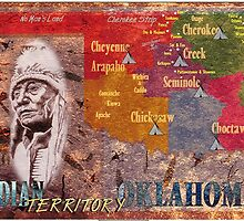 Map of Indian Territory by dummy