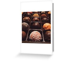 Chocolate Truffles Photo Greeting Card