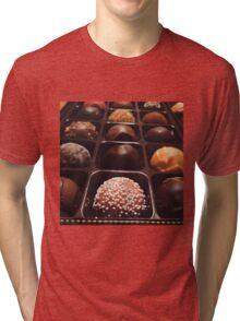 Chocolate Truffles Photo Tri-blend T-Shirt