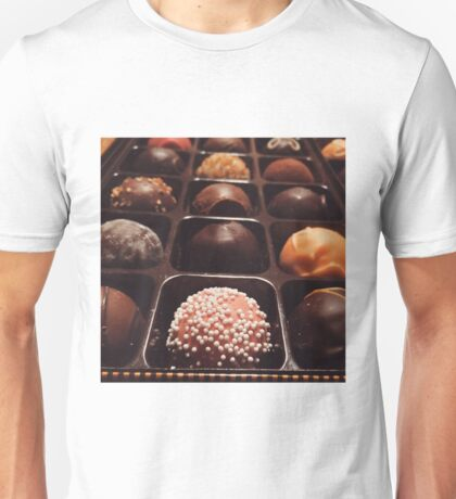 Chocolate Truffles Photo Unisex T-Shirt