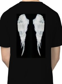 Angel Wings white velvet2 Classic T-Shirt