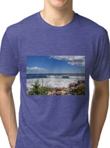 Seascape Acadia National Park  Tri-blend T-Shirt